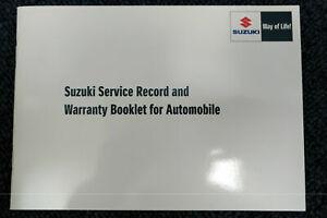 NEW GENUINE SUZUKI SERVICE BOOK 12,500 MILE SERVICING 99000-99004-SMC