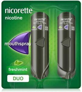 Nicorette Quickmist Freshmint Duo Pack 1 mg -  2 x 150 Nicotine Spray