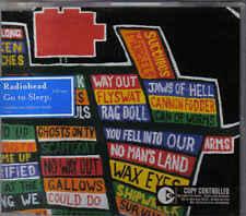 Radiohead-Go To Sleep cd one cd maxi single