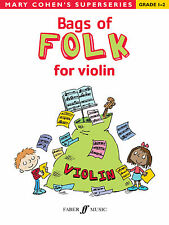 Bags Of Folk for Violin Folk Instrumental Solo Beginner SONGS FABER Music BOOK