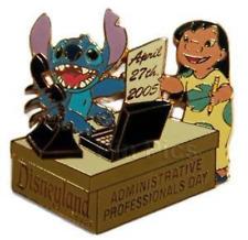 Disney Pin 38167 DLR Administrative Professionals Day 2005 Lilo & Stitch LE 750