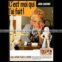 PYRO-MAQUETTE Jeux Laffont 1982 - Pub / Publicité / Original Advert Ad #A959