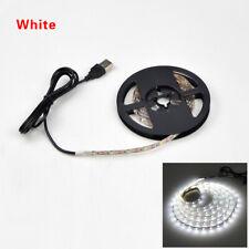 USB LED Strip lamp 2835SMD DC5V Flexible LED light Tape Ribbon 1M 2M 3M 4M 5M