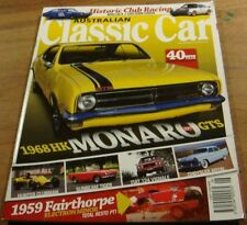 2008.CLASSIC CAR.1968 HK MONARO GTS 327.Sunbeam TIGER.FIAT 124.Hunter CLUBMAN.