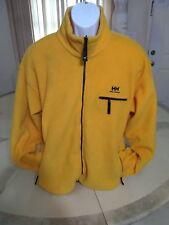 Helly Hansen Men's Fleece Full Zip Sweater XL Yellow READ