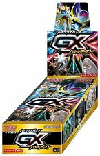 JAPANESE Pokemon GX Battle Boost SM4+ 5 Booster Pack Lot 1/2 Booster Box