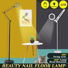Floor Lamp Flexible Swing Arm Standing Light Eye-care Reading Home Office  UK1