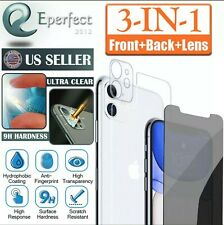 """Iphone 11 Pro Max   full coverage screen protector Front, Back, And Camera 6.5"""""""