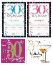 Cartes de vœux et papeterie anniversaire 30 ans