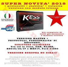 Super novita assoluta KESS 4.036 versione EUROPEA no token illimitata