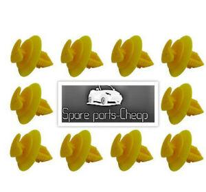 10x Clips FIAT UNO (146 A/E), 1983-2002 clip 14191280