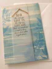 "Hallmark Father's Day Greeting Card ""Dad"" - New"