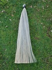 *New Tail Extension 1lb Light Grey by Kathys Tails Aqha Usdf Fei Free Ship & bag
