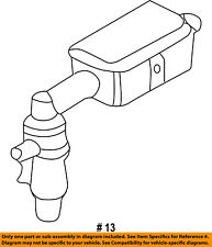 FORD OEM-Vapor Canister Purge Solenoid 6L2Z9F945AA
