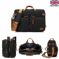 17 Inch Laptop Backpack Notebook Rucksack Briefcase Handbag Tote Shoulder Bag UK