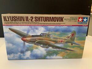 Tamiya 1/48 Russian Ilyushin IL-2 Shturmovik 61113 RARE $1 Starting Bid