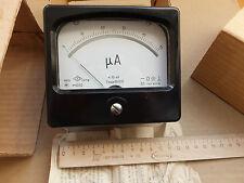 DC 0-50uA Analog Current Panel Meter, USSR ,Professional Device. NOS.