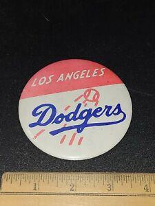 Vintage 1970s Los Angeles Dodgers MBL Pinback Button