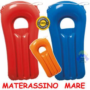 Materassino GONFIABILE Mare CUSCINO Piscina SPIAGGIA Bambini RELAX Nuoto BIMBO