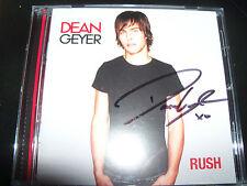 Dean Geyer ( Neighbours / Glee ) Rush Rare Australian Signed Autographed CD