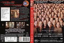 Being John Malkovich (DVD), R-4, VERY GOOD, FREE SHIPPING