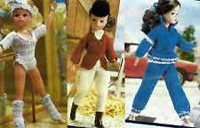 FASHION DOLLS SINDY BARBIE 3 OUTFITS KNITTING PATTERNS BY EMAIL (494)