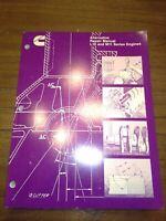 OEM Cummins Alternative Repair Manual L10 and M11 Series Engines.