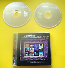 """2 x CD """" SCOOTER - ROUGH AND TOUGH AND DANGEROUS - THE SINGLES """" BEST OF"""