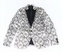 INC Men's Suit Separate Silver Size Large L One Button Slim Fit $149 #333