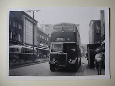 ENG1897 - 1960s EXETER CORPORATION BUS Co Ltd - BUS No60 PHOTO to Barley Mount