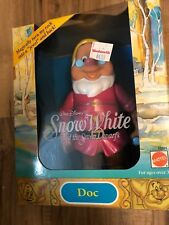 Mattel Snow White and the Seven Dwarfs Color Changing Doll DOC NIB
