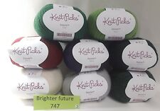 New Lot of  8 Knit Picks Palette Fingering Yarns 231 yds 50 g * Free Shipping! *