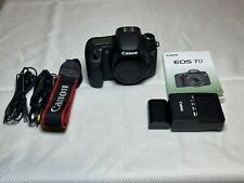 Canon EOS 7D 18.0 MP Digital SLR Camera - Black (Body Only) Low Shutter Count!