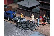 Faller 170724 HO 1/87 Matériel de flocage : déchets de charbon, noir, 250 g