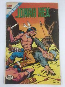 1985 JONAH HEX #2 SPANISH MEXICAN COMICS SERIE AVESTRUZ NOVARO MEXICO
