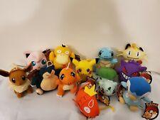 Pokemon Pikachu Bulbasaur Charmander Squirtle Plush Stuffed Animal 6