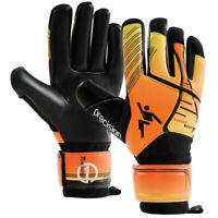 Precision Fusion Heat Adult Football Soccer Goalkeeper Glove Black/Orange