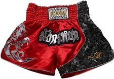 Fluory Muay Thai Fight Shorts,Mma Shorts Clothing Training Cage Fighting Grappli