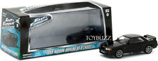 GREENLIGHT 1:43 FAST & FURIOUS 1989 NISSAN SKYLINE GT-R R34 BLACK NEW 86229