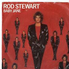 "Rod Stewart - Baby Jane 7"" Single 1983"
