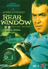 Rear Window (1954) - Alfred Hitchcock, James Stewart, Grace Kelly - DVD NEW