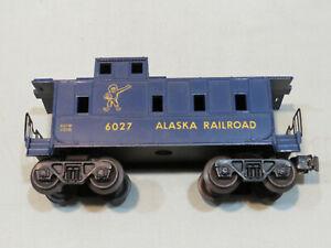 Vintage Lionel 6027 Alaska Railroad Caboose