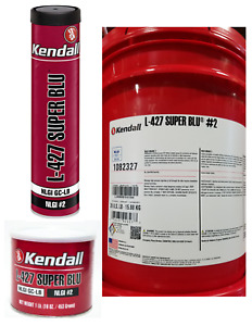 Kendall L-427 Super Blu Grease, NLGI #2 GC-LB; Multipurpose Extreme-Pressure