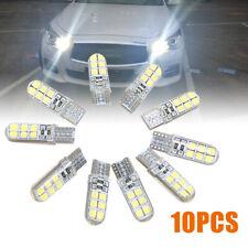 10x White LED Canbus Error Free Silica Light Bulb Xenon T10 W5W 12SMD 2835 6000K