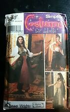 Simplicity 5359 Belly Dance Costume size 6, 8, 10, 12~Tribal~Pantaloons~Choli