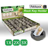 Hide-A-Key Fake Rock Artificial Key Stone Holder Spare Key Safe Secure Container