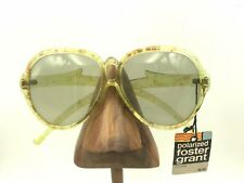 8b190027870 Vintage Foster Grant Yellow Transparent Oversized Butterfly Sunglasses  Frames