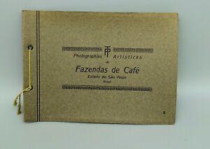 Neun Fotos Kaffeeanbau Sao Paulo Brasilien um 1930 21cm auf 16cm