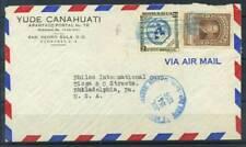 Honduras 1956 Busta 100% Air Mail San Pedro Sula