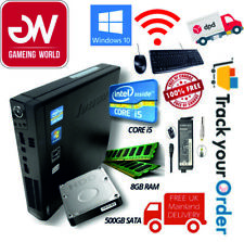 BARGIN OFFER Lenovo Mini Micro PC  i53rd Gen 8GB RAM 500GB W10Pro KEYBOARD+MOUSE